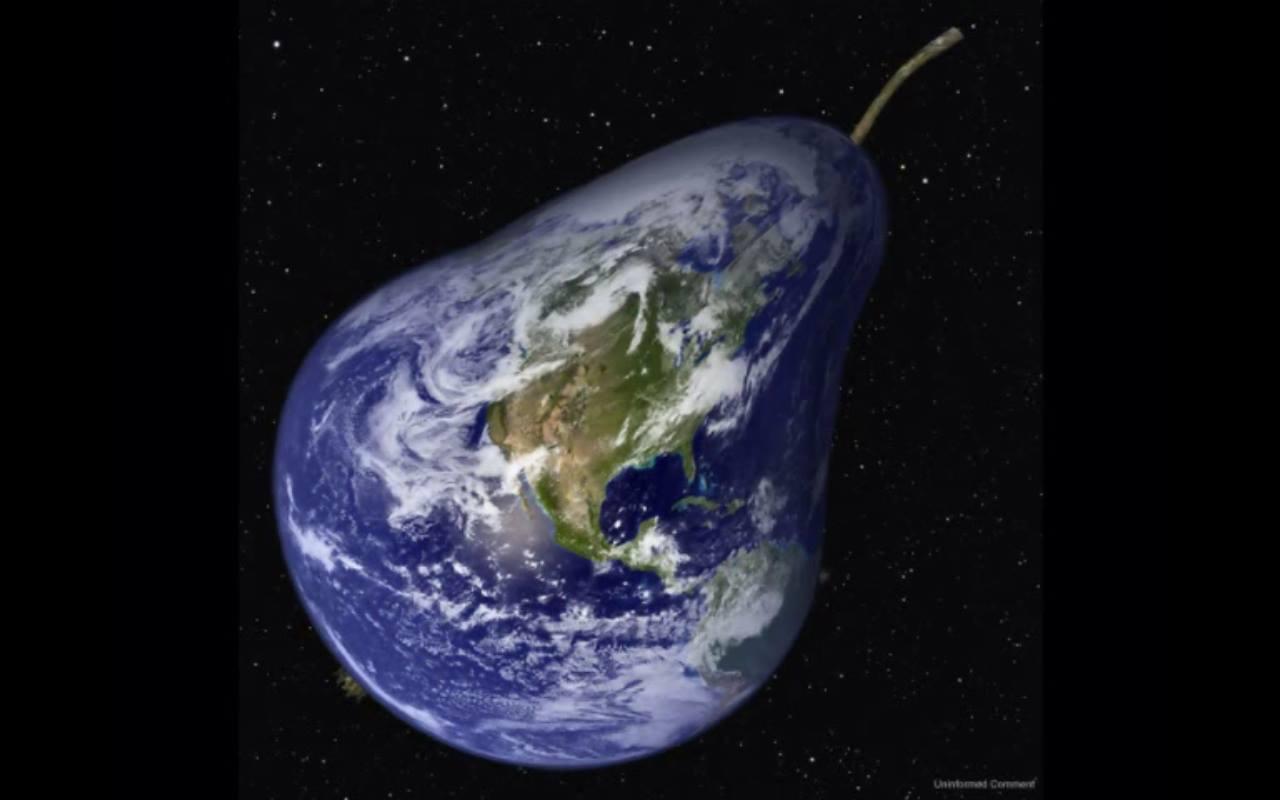 pear-shaped globe
