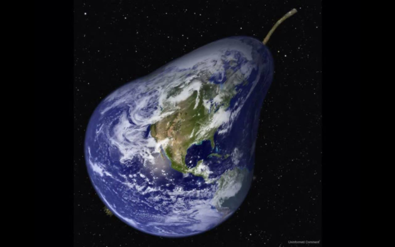pear-shaped globe